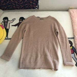 Forever 21 Long Pink Sweater